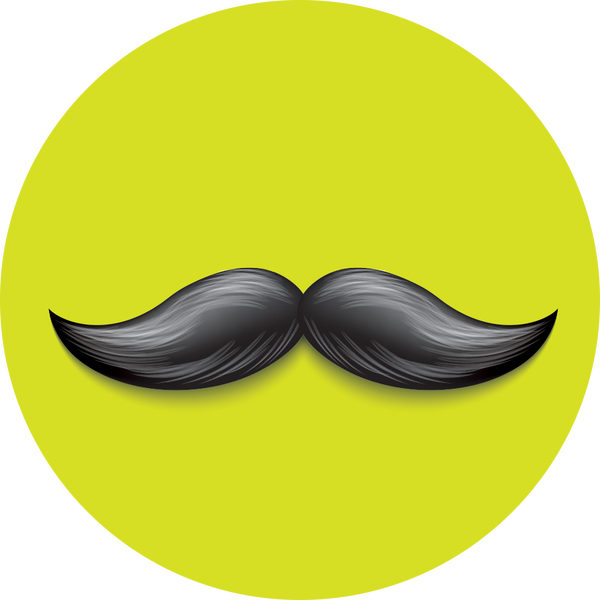 Original nuckees Phone Grip - Mustache