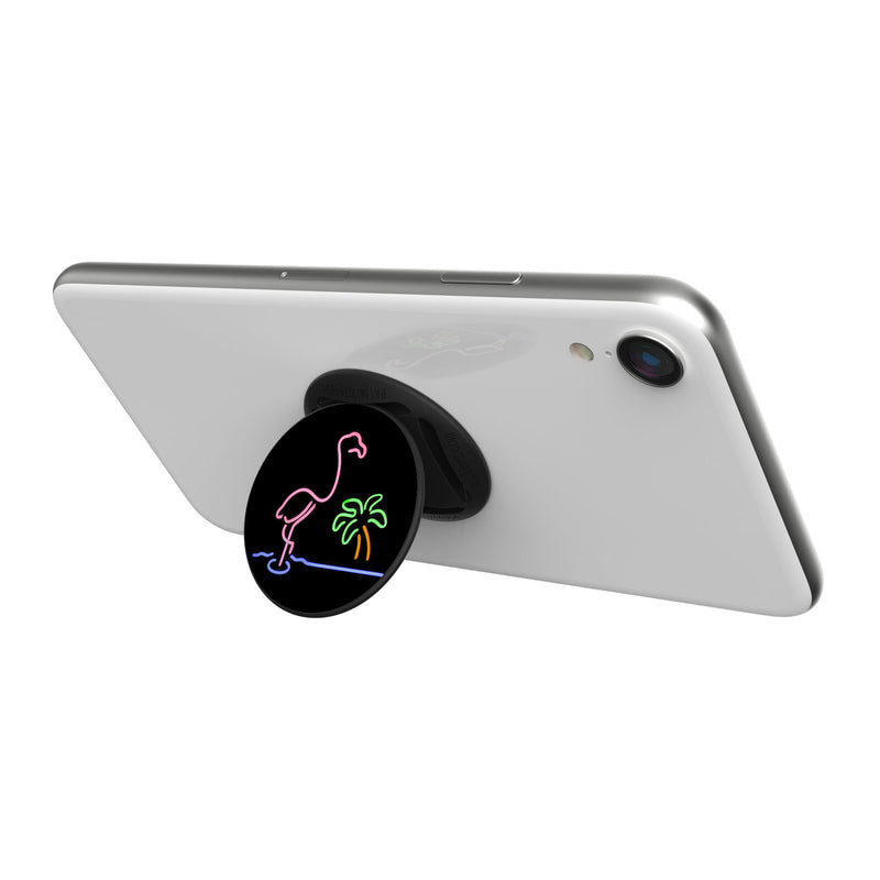 Original nuckees Phone Grip - Neon Flamingo