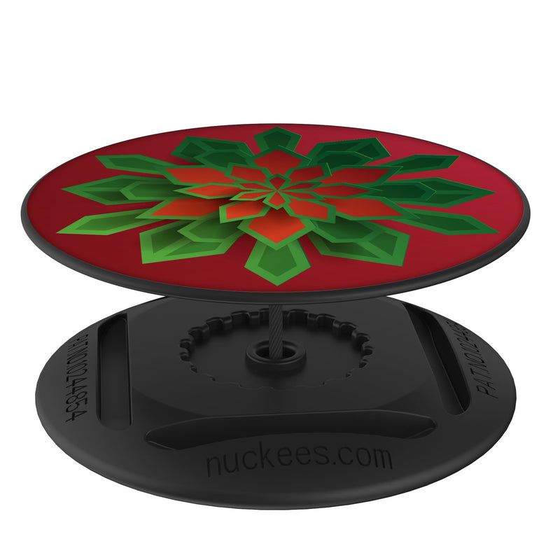 Original nuckees Phone Grip - Poinsettia