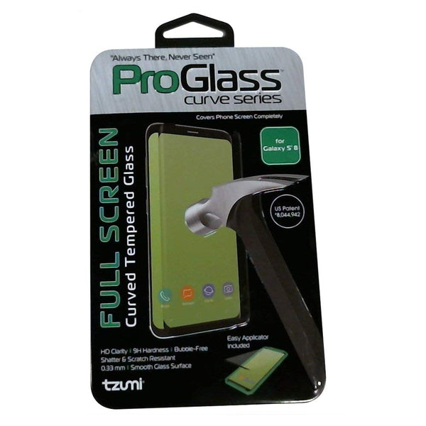 ProGlass for Samsung Galaxy S8 – Premium Tempered Glass Screen Protector with Application & Cleaning Kit