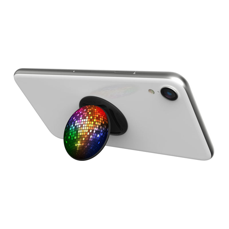 Original nuckees Phone Grip - Rainbow NYE Ball