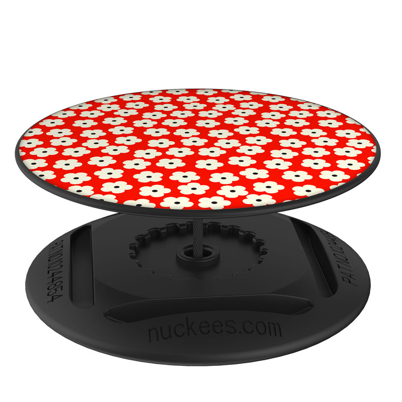Original nuckees Phone Grip - Red Poppy