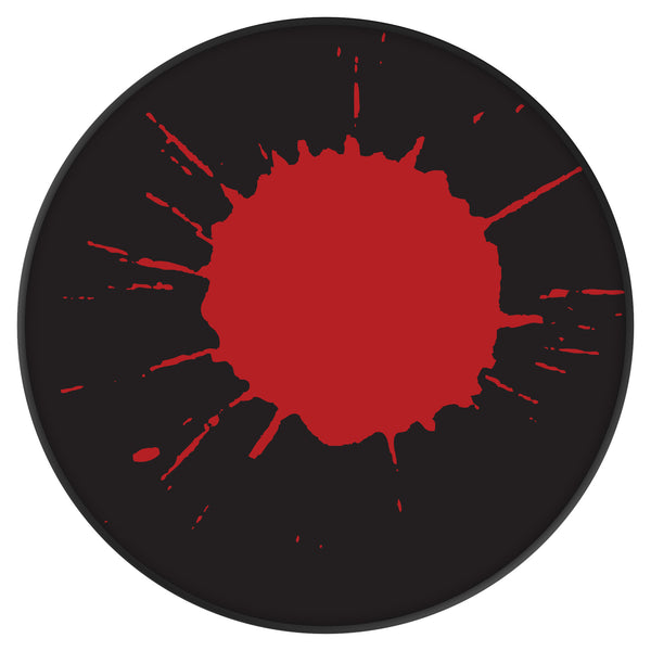 Original nuckees Phone Grip - Black and Red Splatter