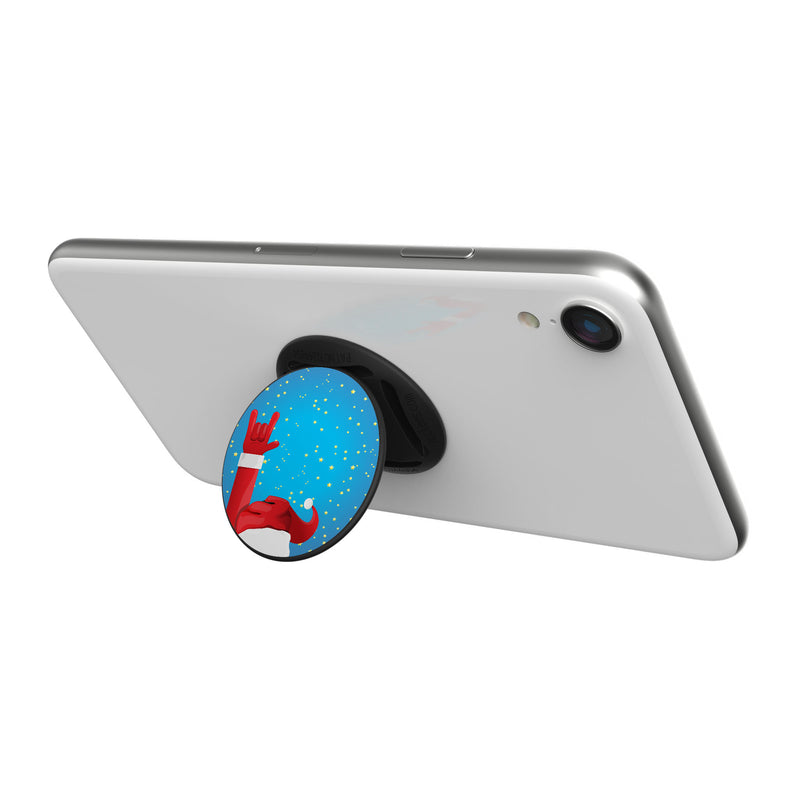 Original nuckees Phone Grip - Rocker Santa