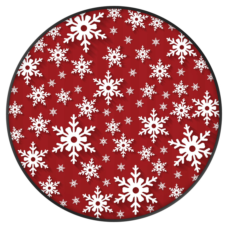 Original nuckees Phone Grip - Snowflake Wrapping Paper