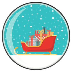 Original nuckees Phone Grip - Snowglobe Sleigh