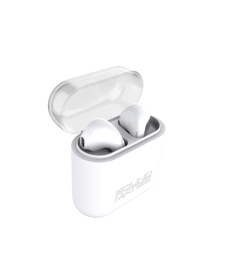 SoundMates Wireless Bluetooth Earbuds with Protective Charging Case