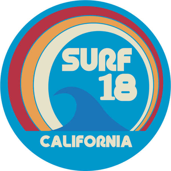 Original nuckees Phone Grip - Surf '18