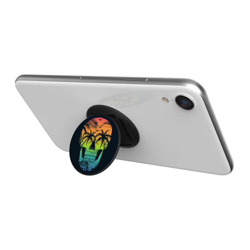 Original nuckees Phone Grip - Tropical Skull