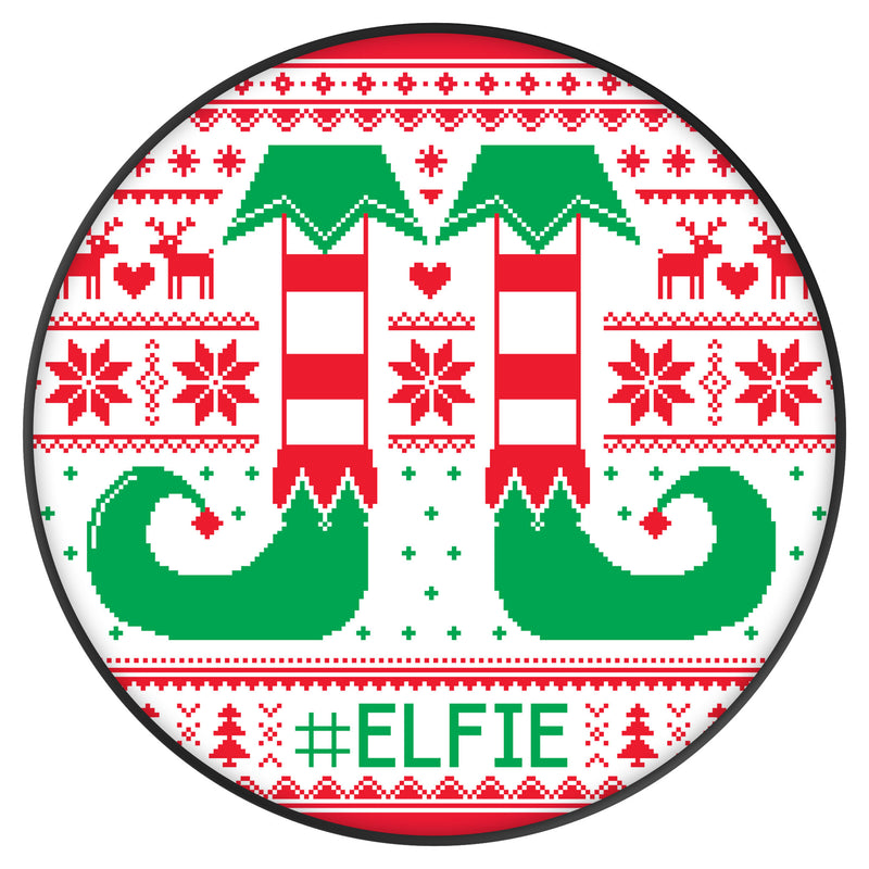 Original nuckees Phone Grip - Elfie Ugly Sweater