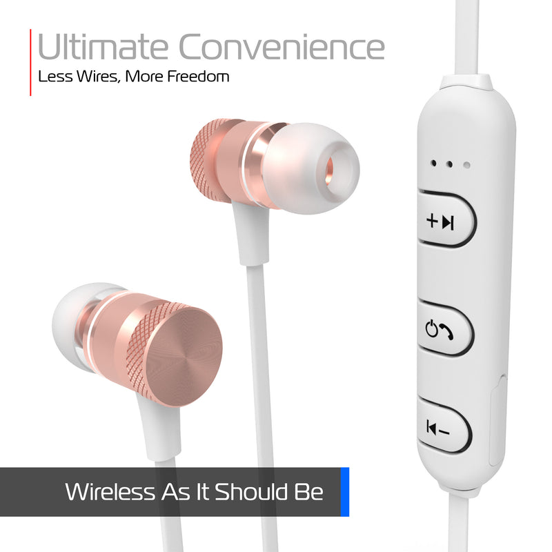 Urban Series Wireless Magnetic Earbuds with Built-In Microphone