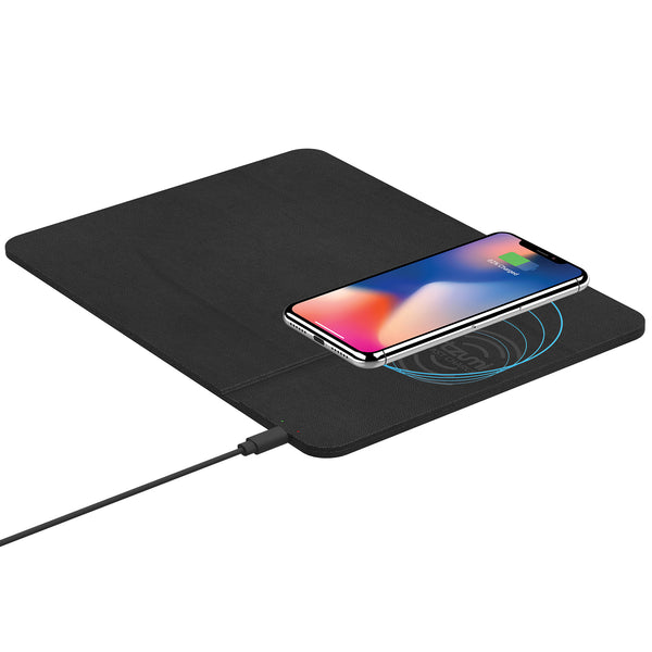 Wireless Charging Mouse Pad and Rechargeable Mouse