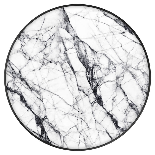 Original nuckees Phone Grip - White Marble