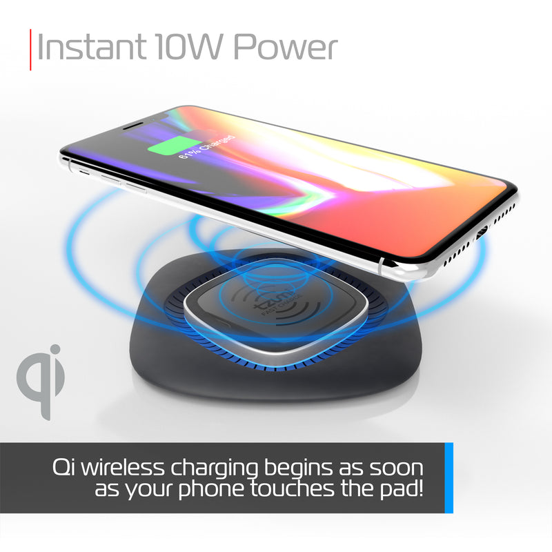HyperCharge 10W Square Wireless Charging Pad