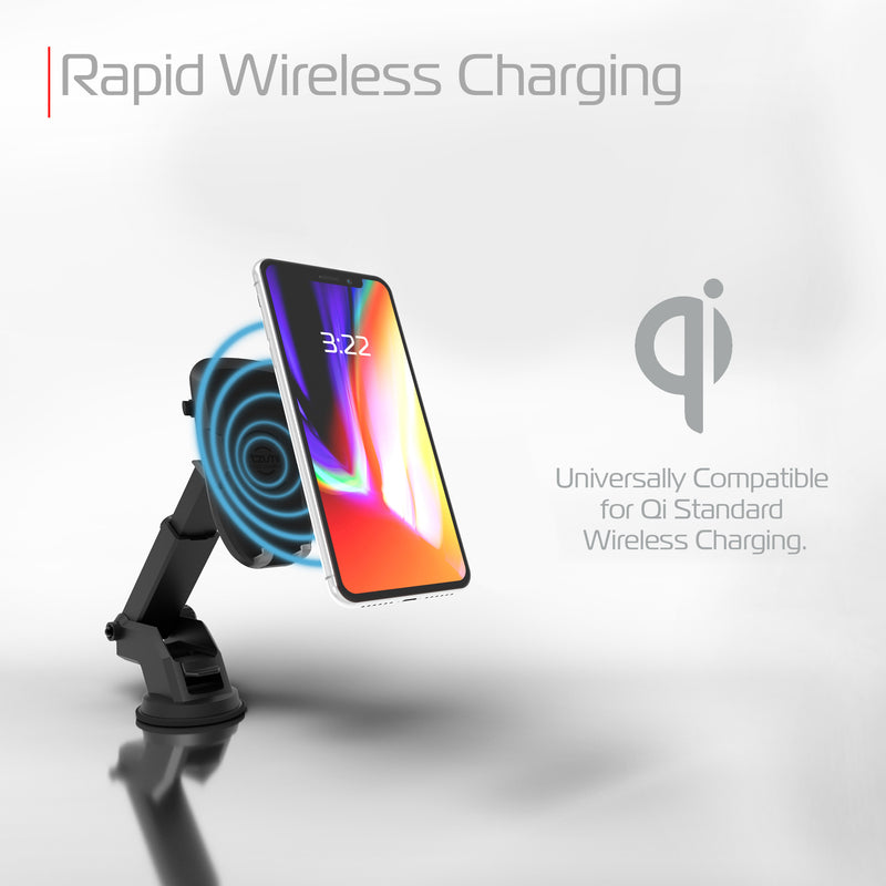 Wireless Charging Auto Dashboard Mount