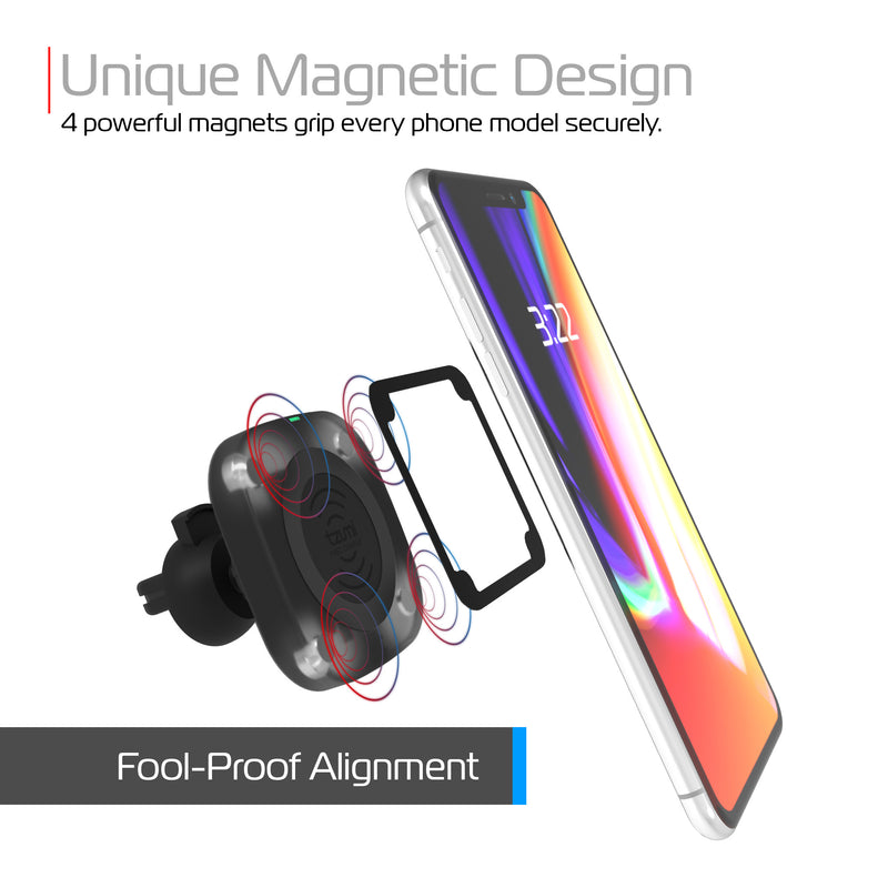 Magnamount Auto Air Vent Wireless Charger