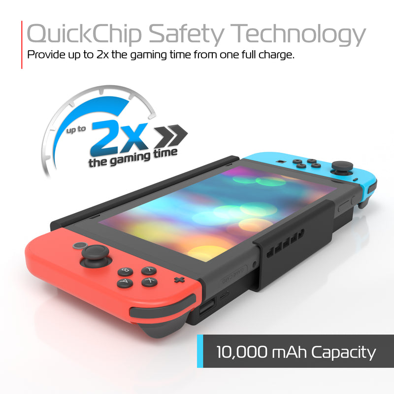 PocketJuice 10,000 mAh Portable Charger for Nintendo Switch