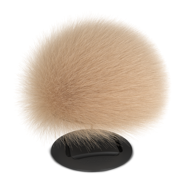nuckees Trends Phone Grip - Beige Pom
