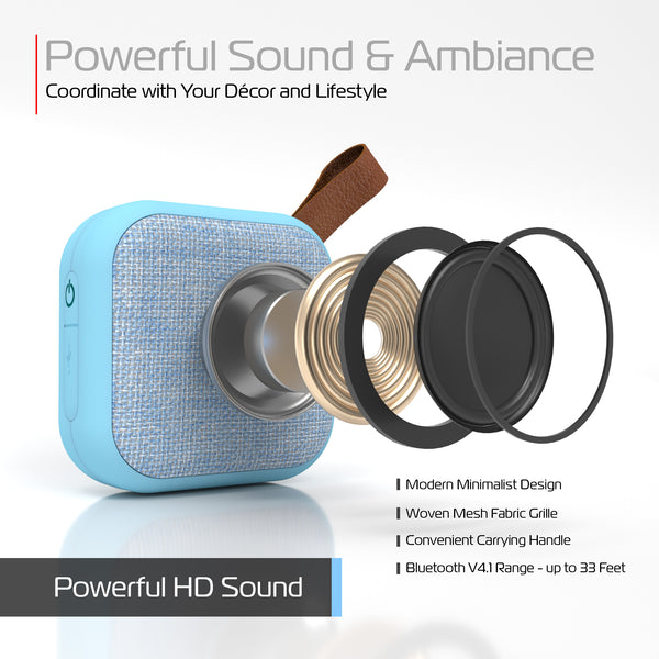 Studio Series Square Fabric Bluetooth Speaker