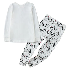 Load image into Gallery viewer, 100% Organic Cotton Toddler 2 Piece Pajama Set - Penguins
