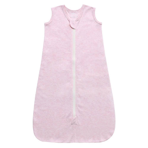 100% Organic Cotton Sleep Sack - Pink Melange