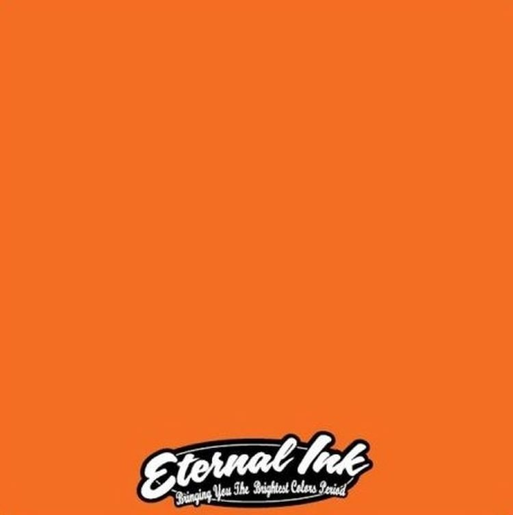 Eternal Ink Bright Orange 1oz