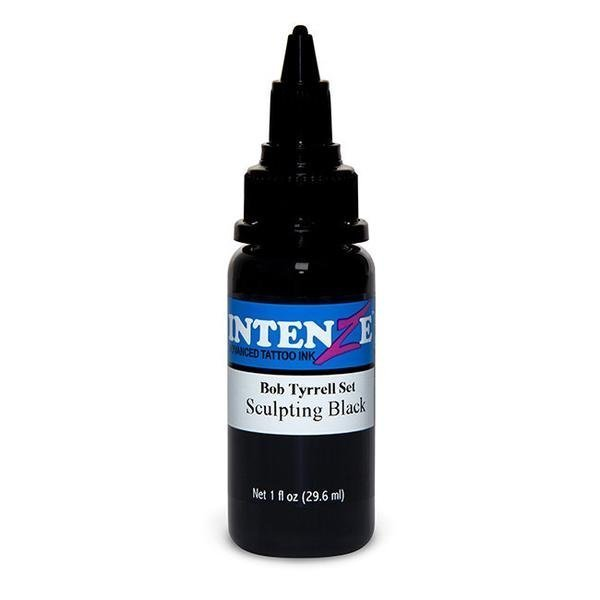 Intenze Ink Bob Tyrrell Sculpting Black 1oz