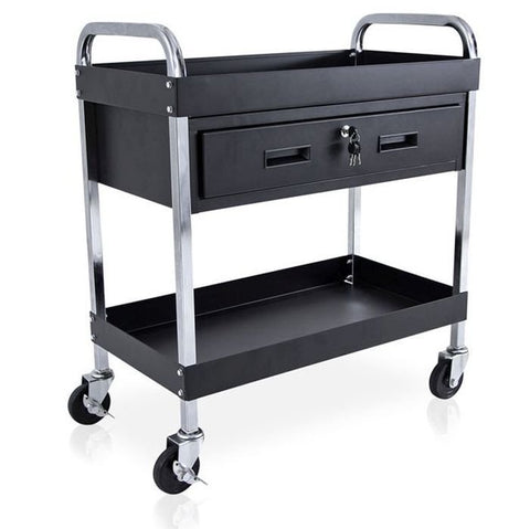 Studio Trolley with Drawer and Tray