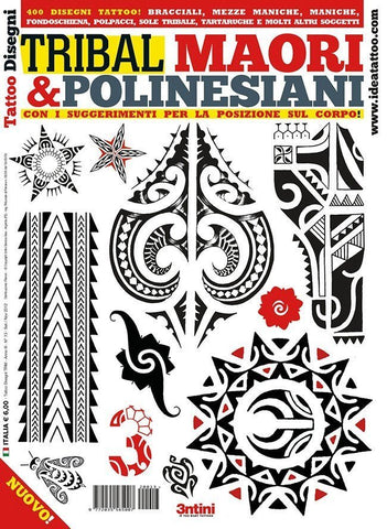 Tribal Maori & Polynesian Flash Book