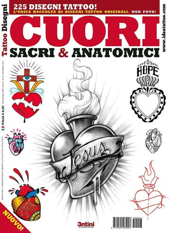 Sacred & Anatomical Hearts Flash Book