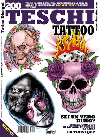 200 Skulls Flash Book