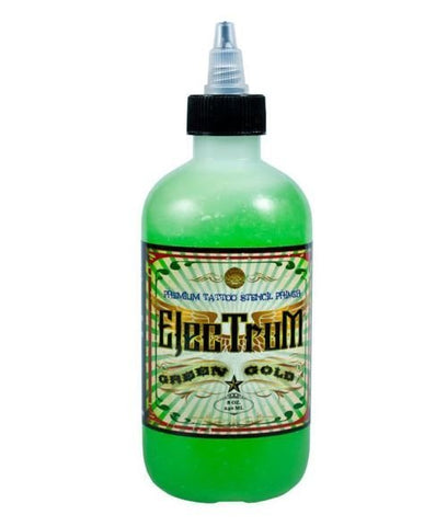 ElecTruM  Premium Tattoo Stencil Primer - Green Gold