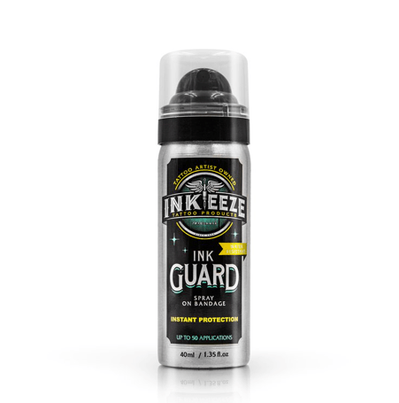INK-EEZE INK GUARD Spray On Bandage - 40ml