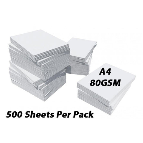 A4 80gsm White Paper 500 sheets