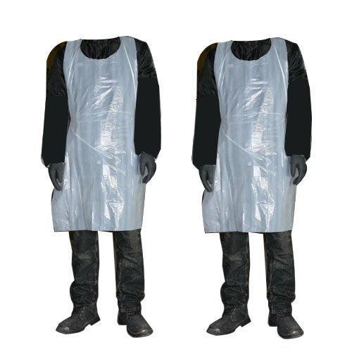 Disposable Protection Aprons - White - 200 Roll
