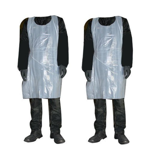 Disposable Protection Aprons - White - 200 Roll (NO VAT)