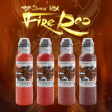 World Famous Ink - Dima NBK Fire Red Set