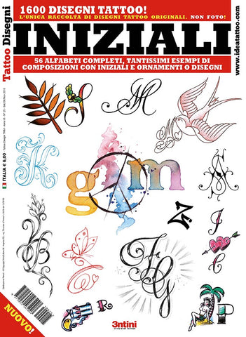 Initials Flash Book