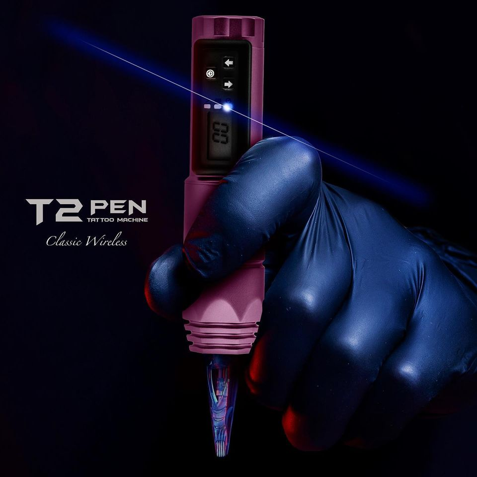 T2 Pen Classic - Wireless Tattoo Rotary Pen