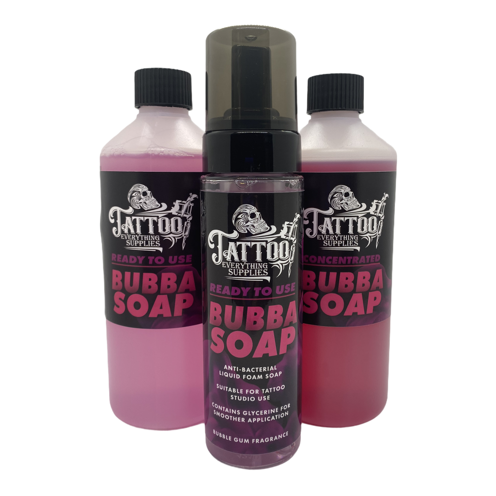 .Antibacterial Bubba Soap