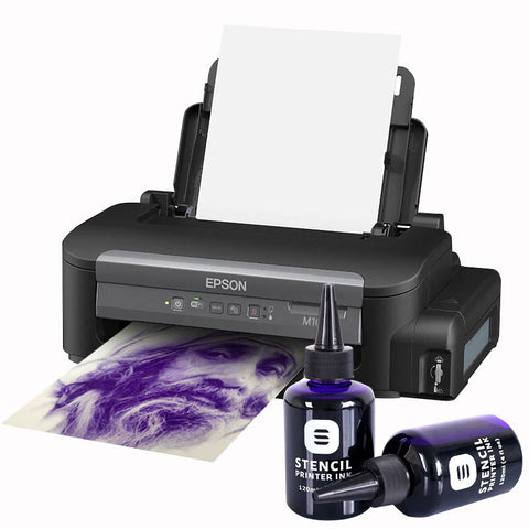 Ecotank Stencil Printer Ink / Paper Bundle
