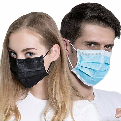 Non Surgical 3ply Face Masks - Blue (NO VAT)