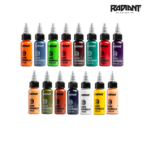 Luis Bonilla Radiant Ink Set
