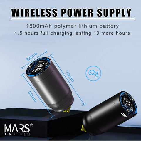 Mars Wireless Power Supply