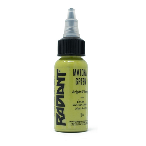 Radiant Ink Pastel Matcha Green 1oz