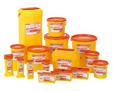 Sharpsguard Orange Sharps Bin