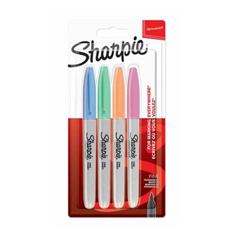 Sharpie Pastel Fine Point 4 Pack