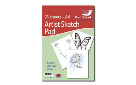 A4 Drawing Sketch Pad 135gsm