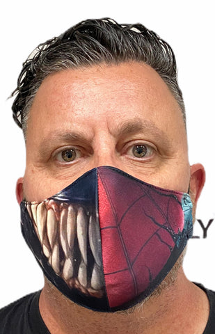 Fashion Mask - Super Hero v Villain with PU-2 Pollution Filter