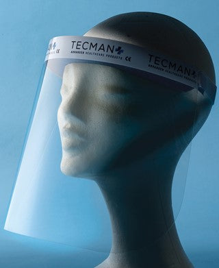 TecMan Anti - Fog Protective Face Visor Shield